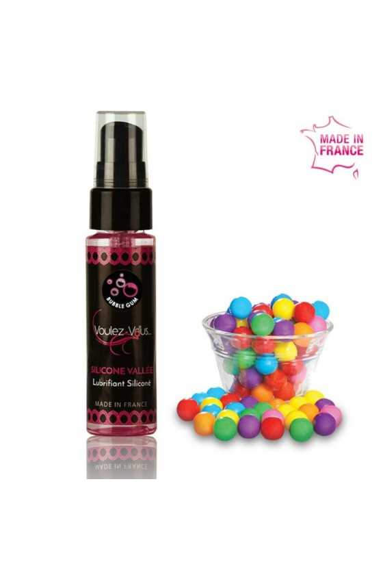 VOULEZ-VOUS LUBRICANTE SILICONA - CHICLE 35 ML